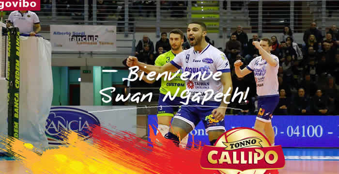 Volley, Swan Ngapeth alla Tonno Callipo